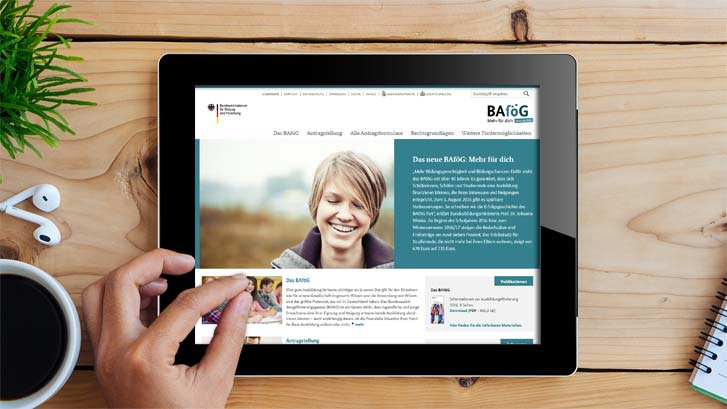 BAföG Website