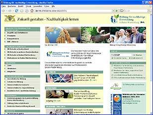 Bildung für nachhaltige Entwicklung in Baden-Württemberg
