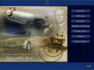 POI-Terminal Chronik Daimler-Benz