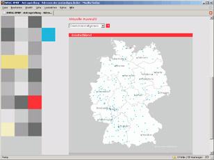 BAföG-Hochschullandkarte