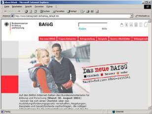 BAföG Relaunch 2001
