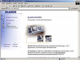 Blanco Firmen- und Produktpräsentation