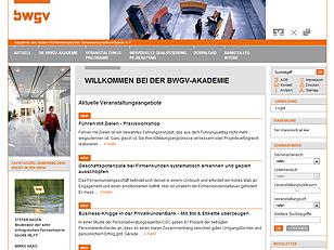 BWGV-Akademie Relaunch