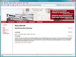 Präsentation Deutsche in Ungarn - Ungarn in Deutschland