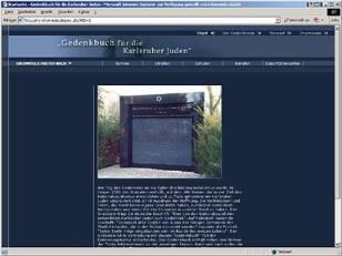 Online-Gedenkbuch für die Karlsruher Juden