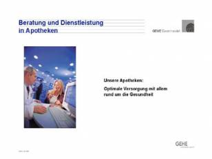 Unternehmenspräsentation der GEHE AG