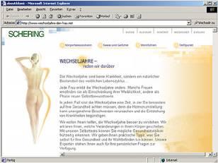 Internet Infoportal Menopause