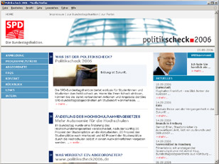 Politikscheck 2006 SPD-Fraktion