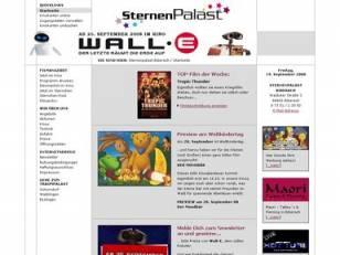 Internetpräsenz Sternenpalast Biberach
