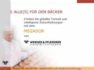 Messepräsentation Werner & Pfleiderer