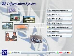 POI-System und CD-ROM - ZF Friedrichshafen AG