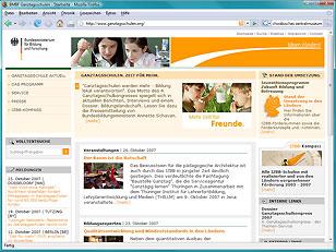 Ganztagsschulen Relaunch 2007
