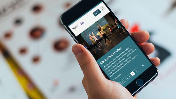 Bündnisse für Bildung Website